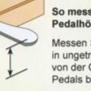 pedalhoehe